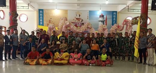 photo para pengurus dan atlit liong Barongsai